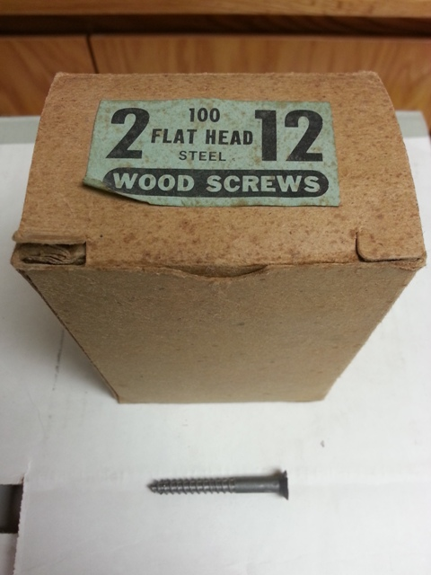 Flat Head Wood Screws
