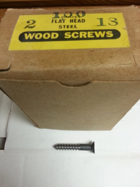 Flat Head Steel Wood Screws