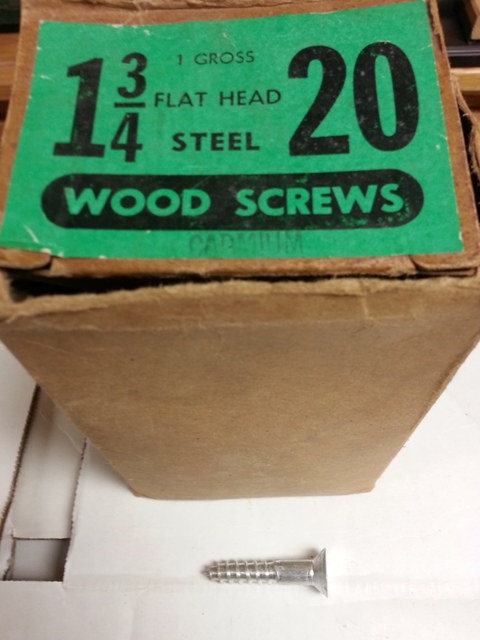 Flat Head Steel Wood Screws (Cadmium)