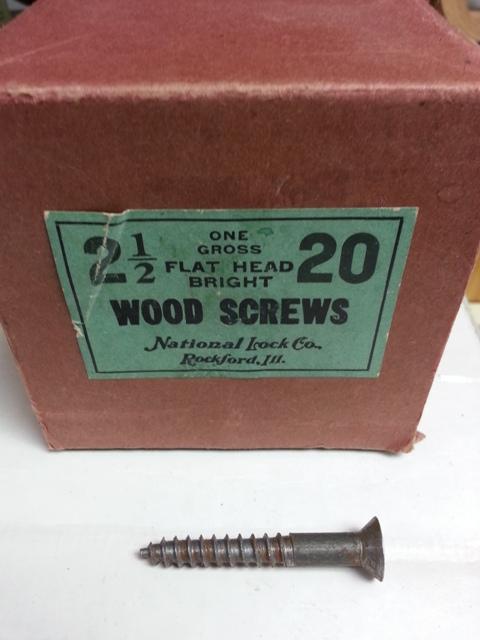 Flat Head Bright Wood Screws