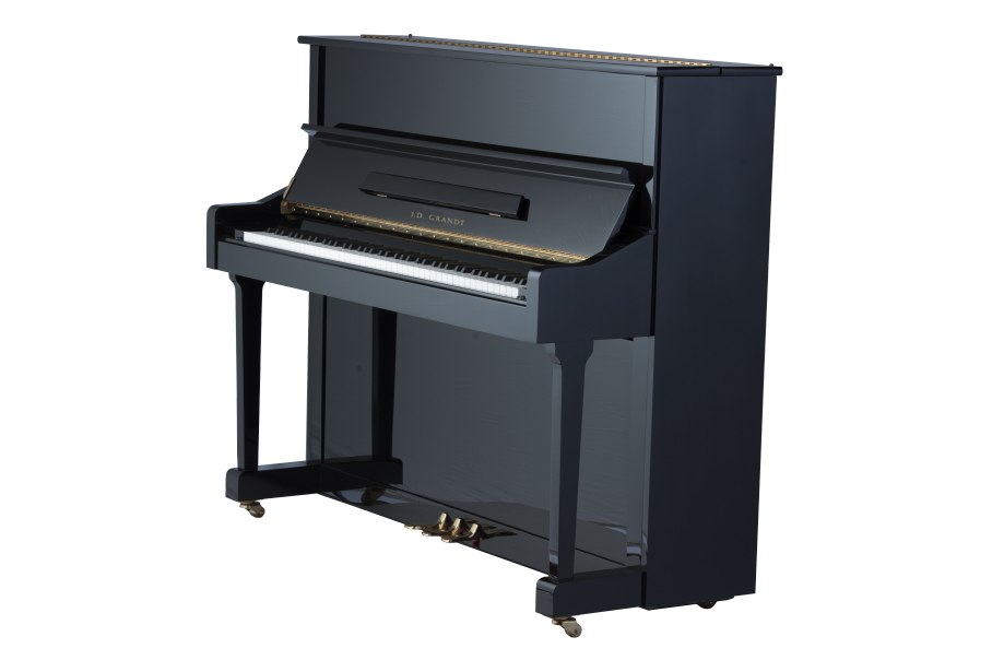 J.D. Grandt UP-123 Black Upright Piano