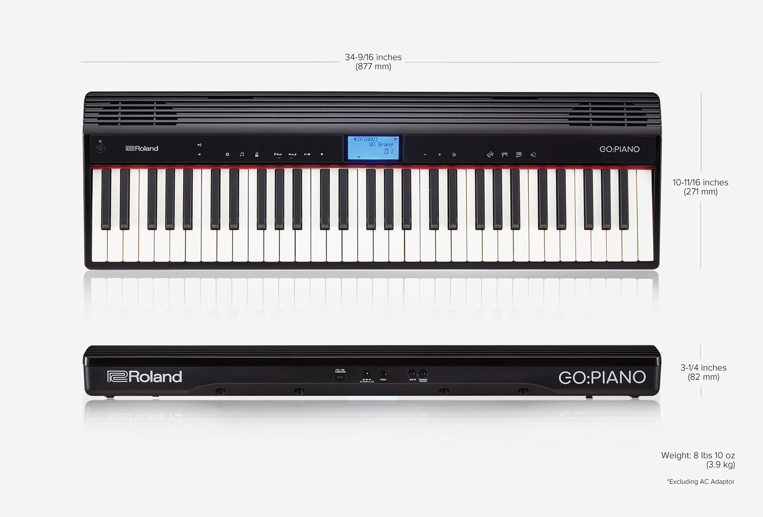 Roland GO-61P Digital Piano
