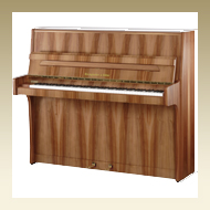 Steingraeber & Söhne Upright Piano - Model 122 S Plum Tree