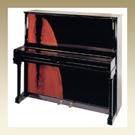 Steingraeber & Söhne Upright Piano - Model 138 K Pyramid Mahogany